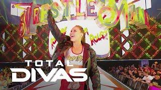 Ronda Rousey Makes Her WWE WrestleMania Debut | Total Divas | E!