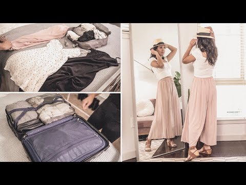 How I MAXIMIZE my Weekend TRAVEL OUTFITS + IDEAS to PACK LESS | ANN LE