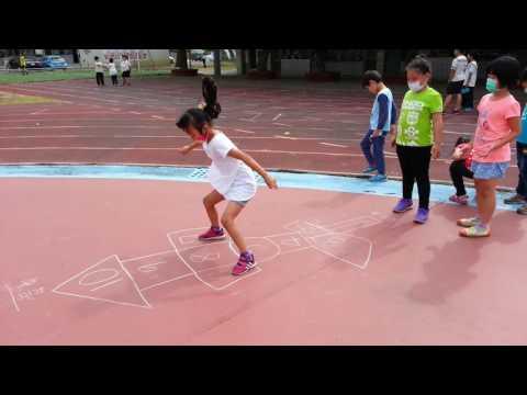 20161121畫格子跳房子5 - YouTube