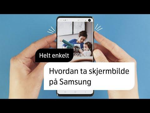 Slik tar du skjermbilde på Samsung – Helt enkelt | Telenor Norge