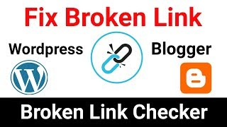 How To Fix Broken Links | Broken Link Checker | Improve Website SEO [Hindi] width=