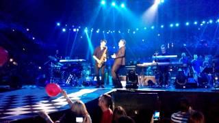 Vlado Georgiev - Živim sad (LIVE ARENA BEOGRAD 06.06.2014.)