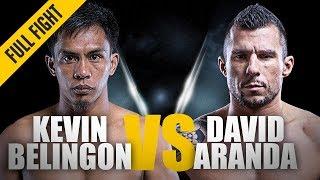 ONE: Full Fight | Kevin Belingon vs. David Aranda | Devastating KO | December 2013 width=