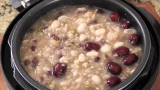 Healthy And Longevity 8 Treasures Porridge for Chinese New Year