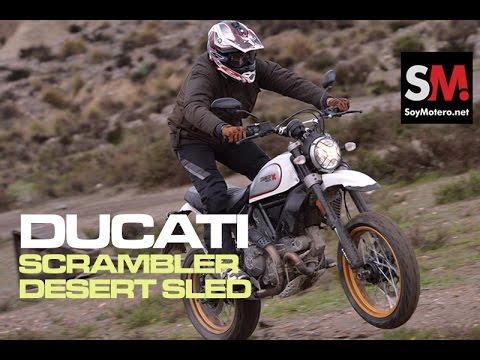 Ducati Scrambler Desert Sled 2017: Prueba Moto Neoclásica [FULLHD]