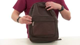 Kenneth Cole Reaction Ahead of the Pack - Leather Backpack  SKU:8781984