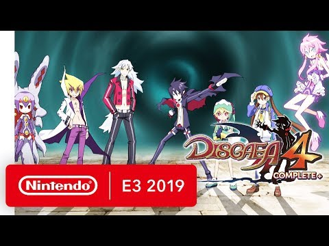 Disgaea 4 Complete+ - Announcement Trailer - Nintendo Switch