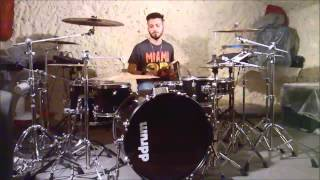 Adele - Set Fire To The Rain (reggae version by Reggaesta) drum cover Riccardo Paladini