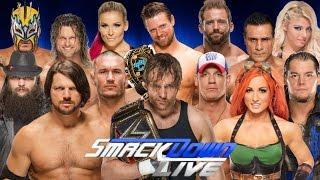"2016: WWE SmackDown Live 19th Theme Song | CFO$ - ""Take a Chance"" 