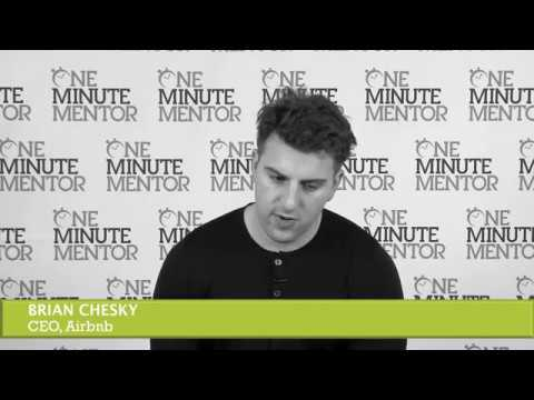 Hearst One Minute Mentor: Brian Chesky on Fear