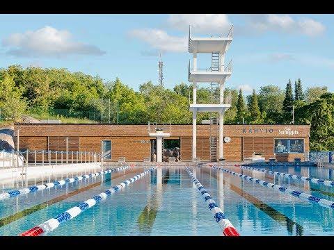 Svenska: Samppalinna simstadion