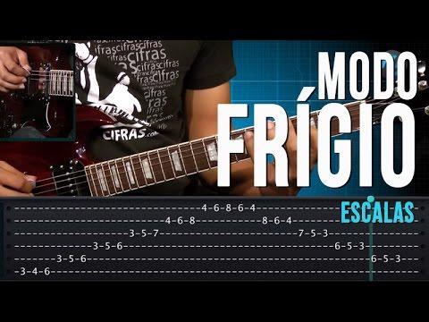 Modo Frígio - Escalas (aula técnica de guitarra)