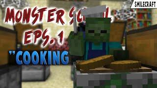 Monster School: Cooking - Minecraft Animation