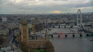 Video emerges showing moment of London attack, pedestrian jumps off bridge