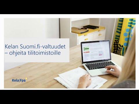 KELA:n Suomi.fi-valtuudet -webinaari 2.12.2020