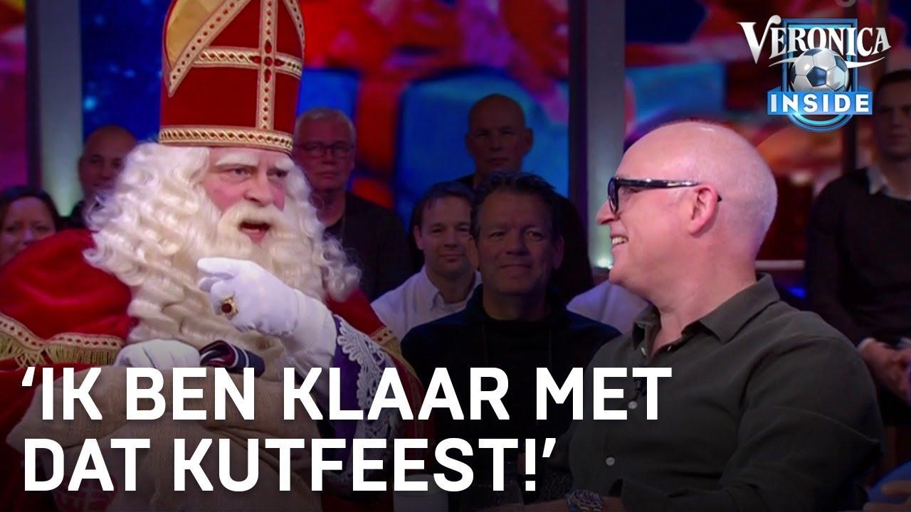 Sinterklaas is helemaal klaar met dat kutfeest bij Veronica Inside