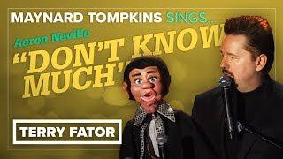 THROWBACK! Maynard Tompkins sings