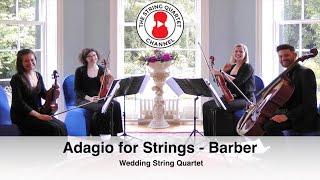 Adagio for Strings (Barber) Wedding String Quartet