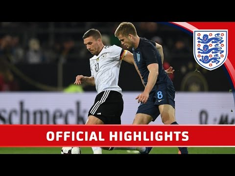 Germany 1-0 England (2017 Friendly)   Official Highlights