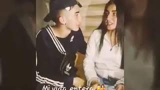 Chica le canta a su novio y lo hace llorar❤