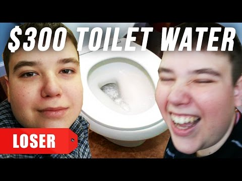 $1 Toilet Water Vs. $300 Toilet Water (EXTREME BUZZFEED EXCLUSIVE)