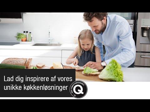Lad dig inspirere af vores unikke køkkenløsninger.