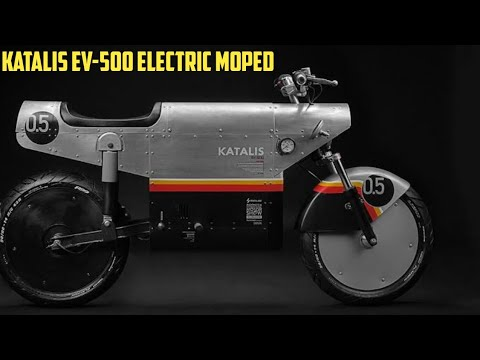 Katalis EV-500 Electric Moped Made in Indonesia