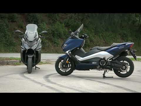 Motosx1000: Comparativa Kymco  AK550 Vs Yamaha TMAX 530