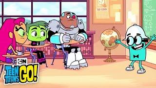 Titans Cool School I Teen Titans Go! I Cartoon Network