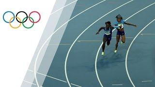 U.S. women's 4x100 relay progresses into final after a solo rerun