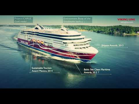 Viking Line's environmental work