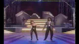 Jermaine Jackson & Pia Zadora - When the Rain begins to fall 1985