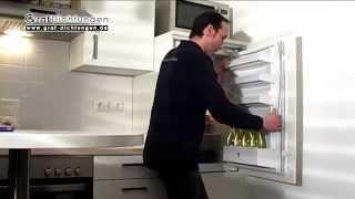 Relativ Kühlschrankdichtung mit Steckprofil austauschen - YouTube EK59