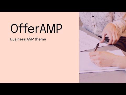 Mobirise Business Site Theme | OfferAMP