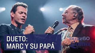 Marc Anthony canta con su padre