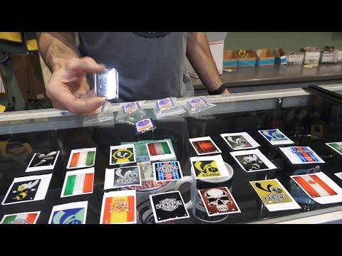 Custom Piaggio Badge Emblems from V-Emblem.com