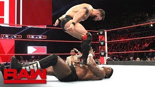 Finn Bálor vs. Bobby Lashley: Raw, Oct. 22, 2018