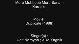Mere Mehboob Mere Sanam - Karaoke - Duplicate (1998) - Udit Narayan ; Alka Yagnik