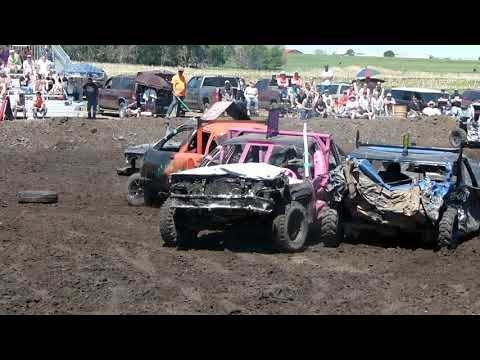 Chamberlain Demolition Derby 2018 Rookie Class Part 3