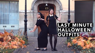 Last Minute Halloween Outfits