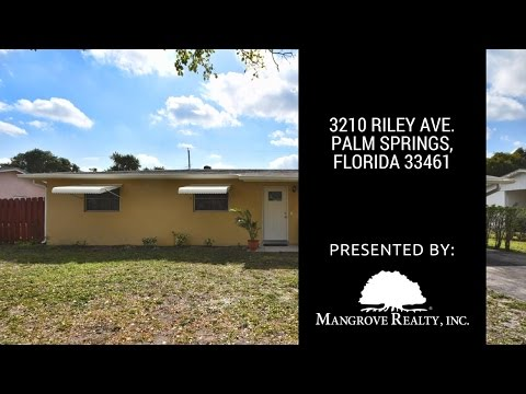 3210 Riley Avenue, Palm Springs, FL 33461   Homes For Sale in Palm Springs