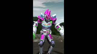 Kamen Rider Zi-O Ex-Aid Armor Finish Strike From GANBARIZING