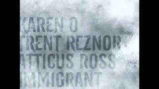 """The Girl with the Dragon Tattoo """"Immigrant Song"""" -- Karen O with Trent Reznor & Atticus Ross"""