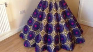 How To Make Panel Gown/Dress (Ball Gown)