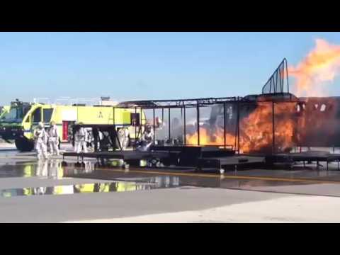 2016 Live Fire Drill at CAK
