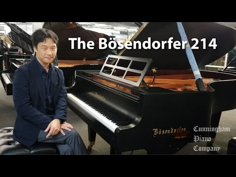 A Look at the Bösendorfer 214 Grand Piano