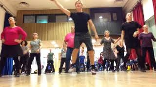 DRURY LANE TAP - Warm Up - 'All I Do'