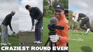 Craziest Round Of Golf Ever Played | w/ Peter Finch, Brodie Smith, Andrew Jensen & Zac Radford