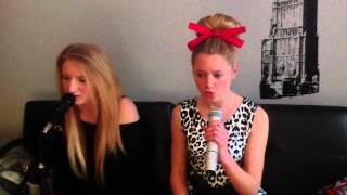 Where Is The Love cover - Chloe and Georgia