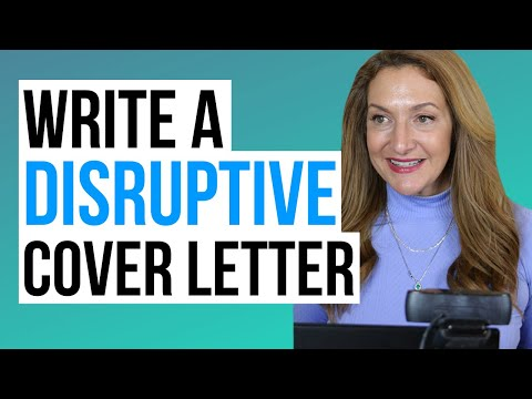 What Is A Disruptive Cover Letter? - PDF Download photo